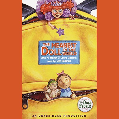 The Meanest Doll in the World  audiobook cover art