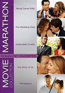Movie Marathon Collection: Romantic Favorites (Along Came Polly / The Wedding Date / Intolerable Cruelty / The Story of Us...