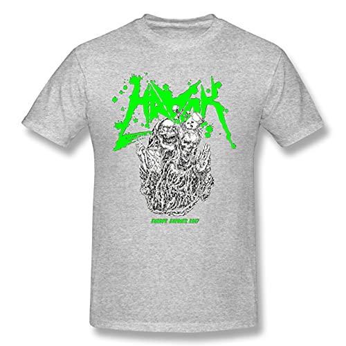 Mens Havok - Maximum Men's Basic Short Sleeve T-Shirt Gray 3X-Large