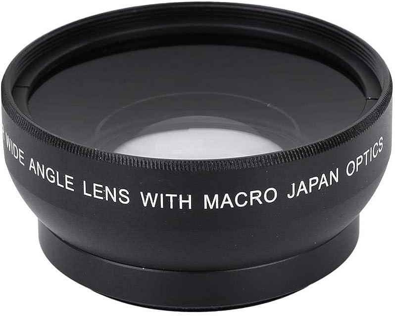 Topiky Lente Macro Gran Angular de Alta definición con Aumento de 0.45X para cámara de 49 mm