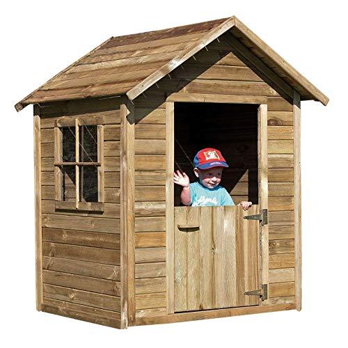 AVANTI TRENDSTORE - Lilo - AVANTI TRENDSTORE - Lilo - Cassetta da giardino in legno per bambini, dimensioni: LAP 124x154x113 cm