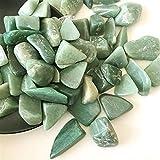 YANGB Piedra de Masaje Natural Verde Dongling Jade Stone Gran Cristal Grava DIY Decoración Decoración Flowerpot Aquarium Ornamental Peces Tanque Fengshui (Color : 15-25mm 50g)