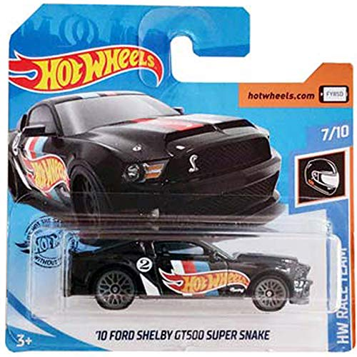Hot Wheels '10 Ford Shelby GT500 Super Snake HW Race Team 7/10 2019 (192/250) Short Card