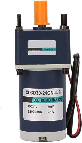 Réducteur de vitesse ajustable XD3D30-24GN-32S, Moteur adapté à aihommet perhommeent électrique DC24V 30WRéduction(16RPM)