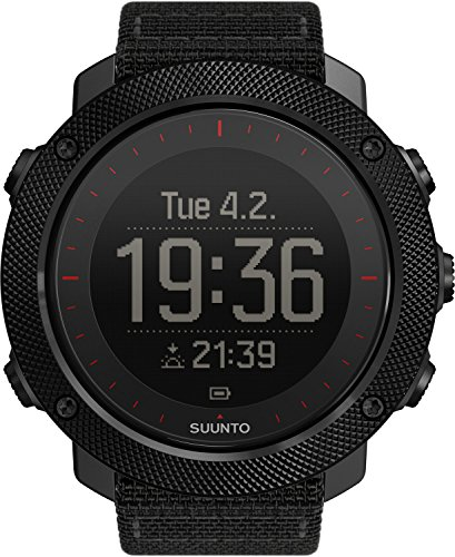 SUUNTO, Montre TRAVERSE ALPHA BLACK RED