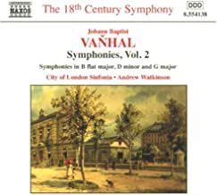 Johann Baptist Vanhal : Symphonies, vol. 2