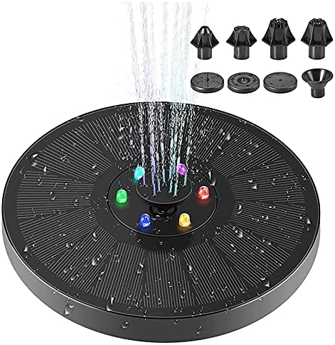 Andifany Solar Fountain Pump for Bombing free shipping Excellent Bath 3W Bird Floating
