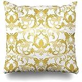 Dekokissen Abdeckung Muster Damast Exquisite Barock Klassik Luxury Fashioned Victorian Royal für...