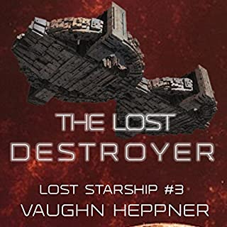 The Lost Destroyer audiobook cover art