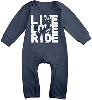 I Love Poker Newborn Baby Boy Girl Romper Jumpsuit Long Sleeve Bodysuit Overalls Outfits Clothes