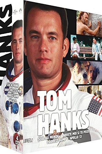 Tom Hanks- Coffret : Forrest Gump + Seul au monde + Arrête-moi si tu peux + Apollo 13 [Francia] [DVD]