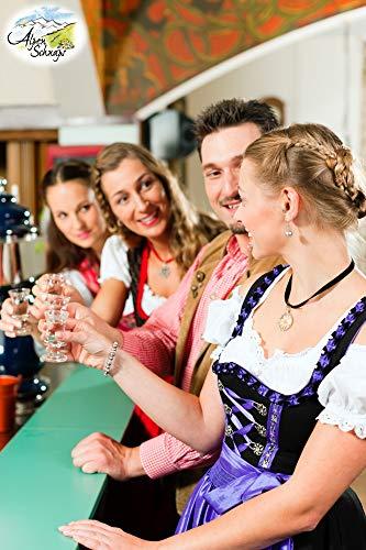 Alpenschnaps | Steinbeisser | 1 x 1l | Himbeere | pures Alpenglück im Glas - 5