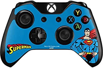 Skinit Decal Gaming Skin for Xbox One Controller - Officially Licensed Warner Bros Superman Portrait Design