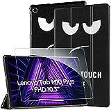 EasyAcc -Custodia Cover Compatibile con Lenovo Tab M10 FHD Plus (2nd Gen) 10.3 Ultrasottile Pellicola...