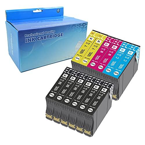 Teng 12X 18XL Cartuchos de Tinta Compatible con Epson 18 18XL para Epson Expression Home XP-205 XP-212 XP-215 XP-225 XP-302 XP-305 XP-312 XP-315 XP-322 XP-325 XP-402 XP-405