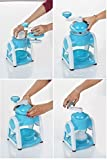 MNV ce Crusher Manual Multifunction Portable Ice Slush Maker Home Snow Cone Smoothie