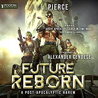 Future Reborn     Future Reborn, Book 1              Written by:                                                                                                                                 Daniel Pierce                               Narrated by:                                                                                                                                 Alexander Cendese                      Length: 7 hrs and 16 mins     5 ratings     Overall 3.8
