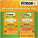 Vitron-C High Potency Iron Supplement with 125 mg Vitamin C, 60 Count #1