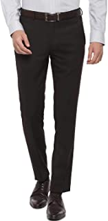 American-Elm Men's Slim Fit Cotton Formal Trouser | Formal Pants for Men