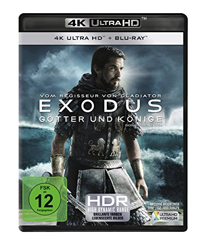 EXODUS - Götter und Könige (4K Ultra HD) (+ Blu-ray)