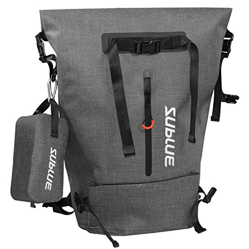 SUBLUE Multifunctional IPX6 Waterproof Backpack Carry Bag for...