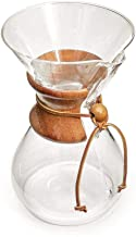 Chemex 6-Cup Classic Series Glass Coffee Maker,400 ml