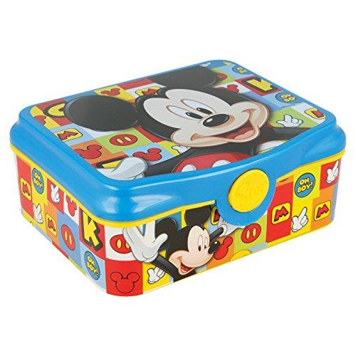 Stor SANDWICHERA Deco Mickey Icons
