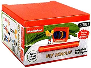 NEW! SET OF 2 - COLLECTIBLE MINI FIGURES HEY ARNOLD! - Series 1 - Nick 90's! They is Back!