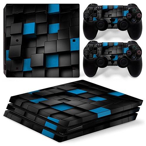 Sony PS4 Playstation 4 Pro Skin Design Foils Pegatina Set - Pixel 2 Motivo