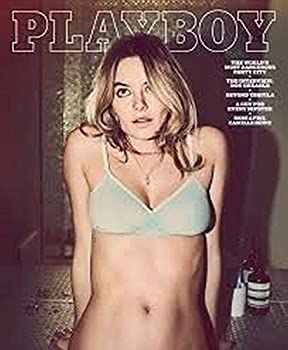 PLAYBOY APRIL 2016-COVER CAMILLE ROWE-NO NUDITY-NEWSSTAND EDITION-NO LABELS