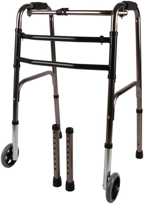 SSLW Wheel Walker Philadelphia Mall Max 47% OFF Walking Frame Aid Elderl Mobility Walk Folding