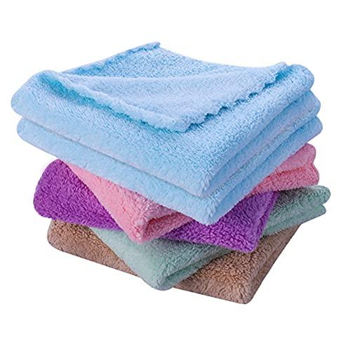 QKFON 24 paños de cocina no se desprenden pelusas, reutilizables platos, toallas superabsorbentes, paños de limpieza para el hogar, cocina, restaurantes y cafeterías
