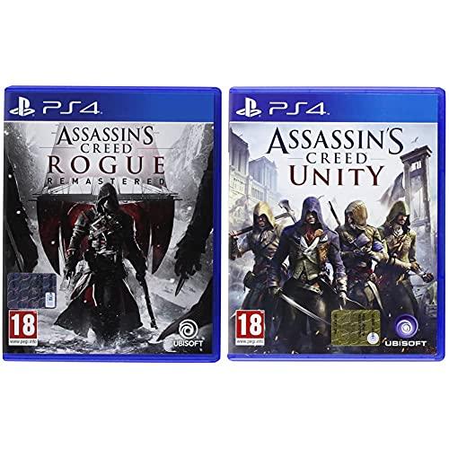UbisoftAssassin's Creed Rogue HD - PlayStation 4 & Assassin's Creed: Unity - PlayStation 4
