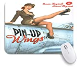 COFEIYISI Pin-up Wings 2 - Silvester,Alfombrilla Raton Alfombrilla Gaming Alfombrilla para computado...