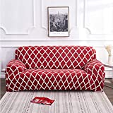 lqgpsx 1/2/3/4Seater Sofa Couch Cover Élastique Spandex Meuble Protector Sofa Cover...