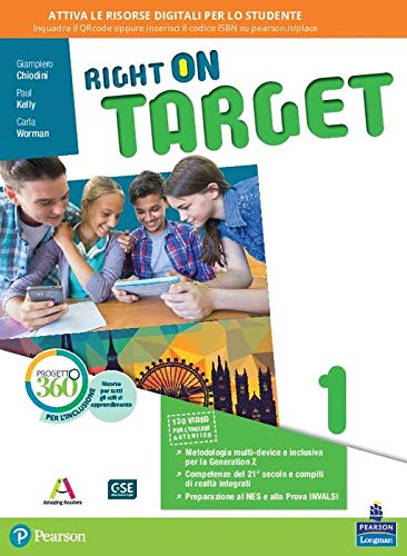 Right on target. Per la Scuola media. Con e-book. Con espansione online: 1