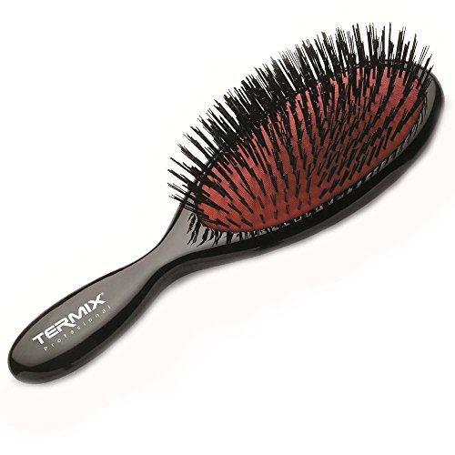 Termix - Cepillo de pelo neumático con púas especiales de nylon y mango...