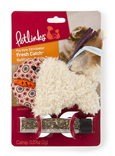 Petlinks Refillable Catnip Cat Toys, Fresh Catch