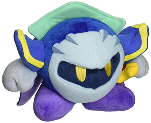 "Little Buddy Kirby Adventure All Star Collection 5.5"" Meta Knight Stuffed Plush"