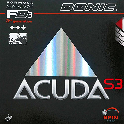 DONIC Belag Acuda S3, rot, 2,3 mm