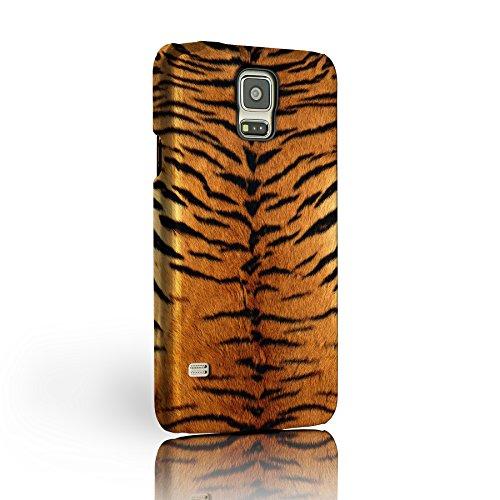iCaseDesigner Schutzhülle für Samsung Galaxy S3 Mini, Motiv: Tiger, Tierfell/Haut, 8 Motive zur Auswahl, harte Rückseite