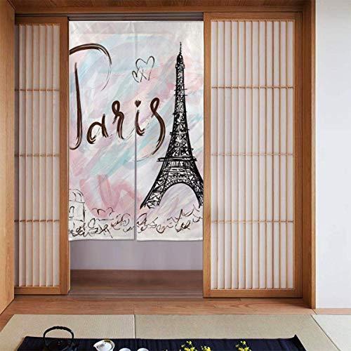 Cortinas opacas con aislamiento térmico, diseño de jirafa galaxia, para habitación de las niñas, guardería esencial, cortinas opacas con aislamiento térmico, 34 x 56 pulgadas