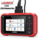 LAUNCH [2020 Version] Code Reader-CR123i OBD2 Scanner Engine ABS SRS Transmission Scanner with Battery Test, 5' Touchscreen Wi-Fi Update, Auto VIN & Health Report Car Scanner Diagnostic for All Cars
