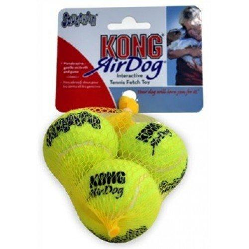 FamilyZoo Air Squeaker Tennis Ball XS 3er Pack