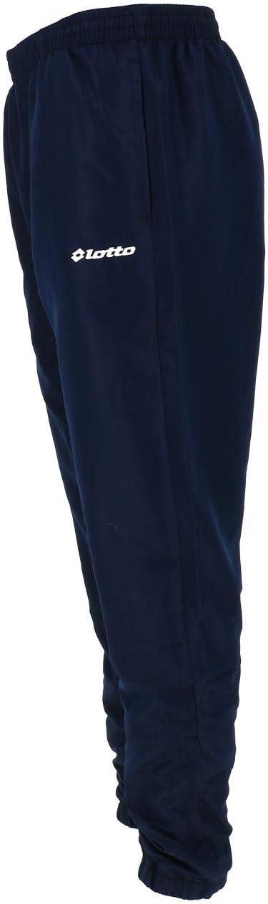 Lotto Milano Cuff DB Navy Pant Pantalon de surv/êtement