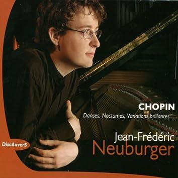 Chopin: Danses, nocturnes, variations brillantes, Jean Frédéric Neuburger - Live