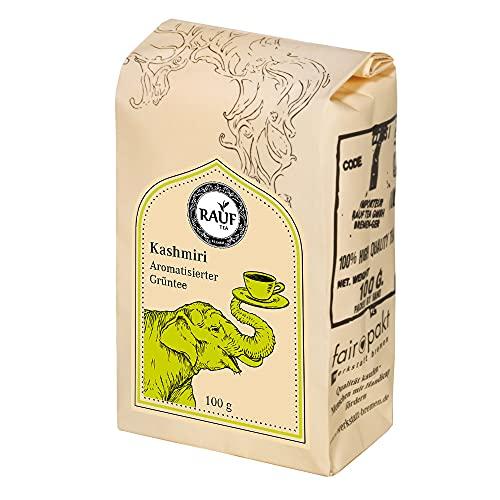 Rauf Tee aromatisierter Grüntee-Kashmiri -2x100g