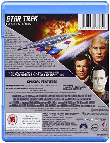 Star Trek VII: Generations [Blu-ray] [1994] [Region Free]