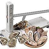Shucker DE Oyster DE Acero Inoxidable, Kit MÁQUINA DE MÁQUINA DE Oyster, Abrelatas de ostras Resistentes Comercial, Juego de Cuchillos de ostras Afilados, para el Mercado de mariscos y el hogar
