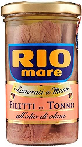 6x Rio Mare Filetti di Tonno in Olio di oliva Thunfischfilets in Olivenöl...